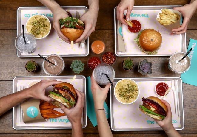 The Vurger Co, 100% plant-based burger restaurant